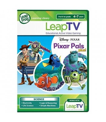 LeapFrog Enterprises LeapFrog LeapTV Disney Pixar Pals Plus Educational, Active Video Game