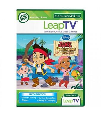 LeapFrog Enterprises LeapFrog LeapTV Disney Jake and The Never Land Pirates Educational, Active Video Game