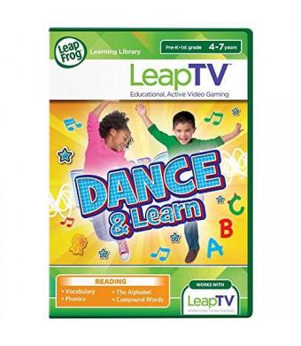 LeapFrog Enterprises LeapFrog LeapTV Dance and Learn Educational, Active Video Game
