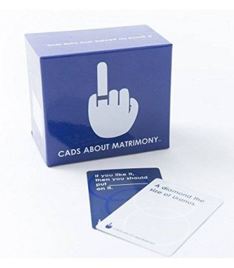 Zapler Games Cads About Matrimony