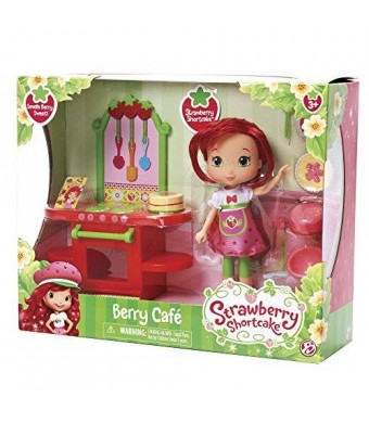 The Bridge Direct Shortcake Berry Bitty Shops with Doll: Strawberry Cafe