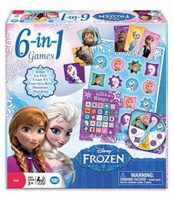 Wonder Forge Frozen 6-in-1 Game Collection