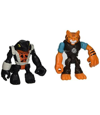 Teenage Mutant Ninja Turtles Pre-Cool Half Shell Heroes Tiger Claw and Newtralizer Figures