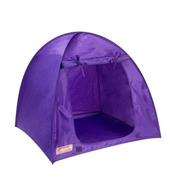 Sophia's Purple Coleman Doll Tent, Perfect for the 18 Inch Camping American Girl Dolls and More! 18 Inch Coleman Doll Tent in Purple