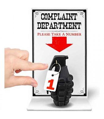BigMouth Inc The Complaint Department Sign