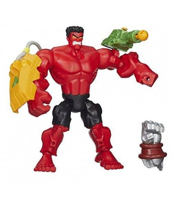 Marvel Super Hero Mashers Red Hulk Figure