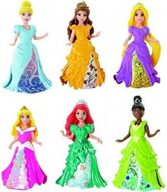 Mattel Disney Princess Magiclip Princess 6-Pack