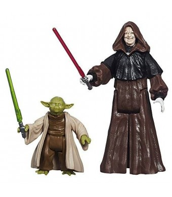 Star Wars Mission Series Figure Set (Yoda and Darth Sidious)