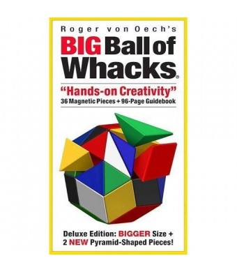 Creative Whack Roger von Oech's Big Ball of Whacks 6-Color Edition