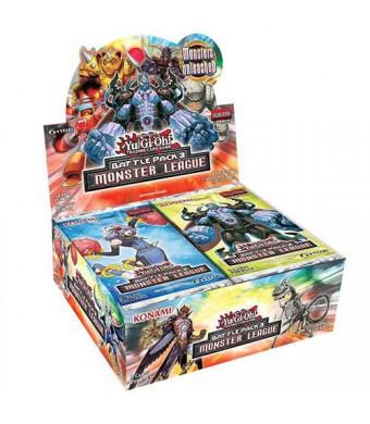 Konami Yugioh Battle Pack 3: Monster League Booster Box