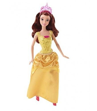 Mattel Disney Princess Sparkle Princess Belle Doll
