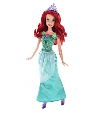 Mattel Disney Princess Sparkle Princess Ariel Doll