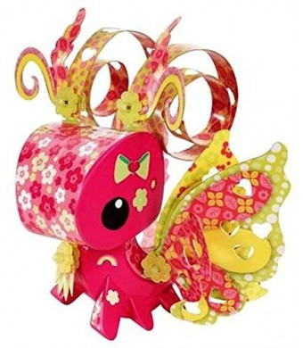 Mattel AmiGami Butterfly Figure and Die Punch Tool