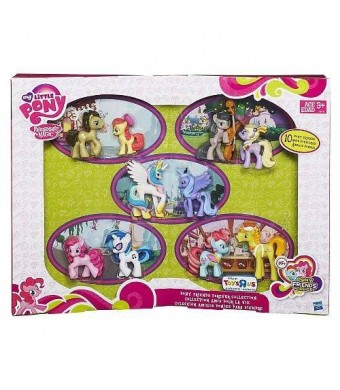 My Little Pony Friendship is Magic My Little Pony Exclusive Friendship is Magic Pony Friends Forever Collection, 10-Pack