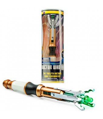 Underground Toys Dr. Who - Doctor Who 12th Doctor's Sonic Screwdriver - Peter Capaldi - With Lights and Sounds