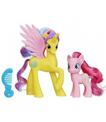 My Little Pony Princess Gold Lily and Pinkie Pie Figures