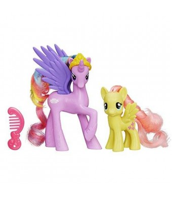 My Little Pony Princess Sterling and Fluttershy Figures