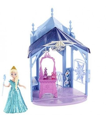 Mattel Disney Frozen MagiClip Flip 'N Switch Castle and Elsa Doll