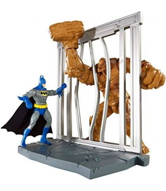 Mattel DC Comics Multiverse 4-Inch Classic Comic Skin Batman and Clayface Figure 2-Pack
