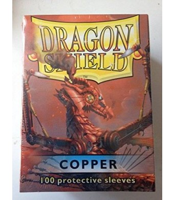 Arcane Tinman Dragon Shield Sleeves 100 Copper Cards
