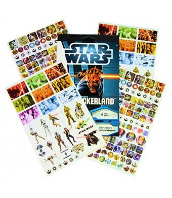 Stickerland Star Wars Reward Stickers - 295 Stickers!