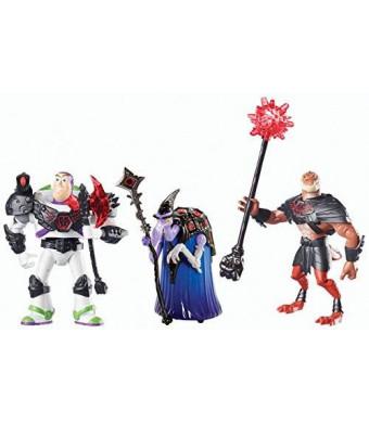 Mattel Disney Toy Story That Time Forgot Battleopolis (3-Pack)