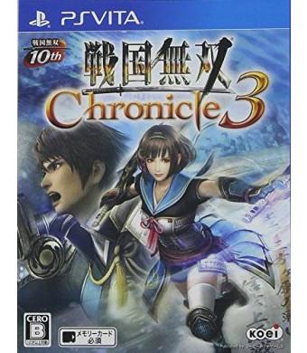 Koei Sengoku Musou 3 Chronicle 3 PS Vita Regular Edition [Japan Import]