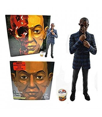 Mezco Breaking Bad Gus Fring Burned Face Action Figure - Entertainment Earth Exclusive