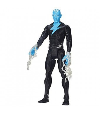 Spider-Man Marvel Ultimate Titan Hero Series Electro Figure, 12""