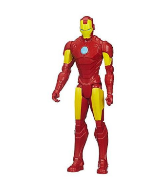 Marvel Avengers Titan Hero Series Iron Man 12-Inch Figure