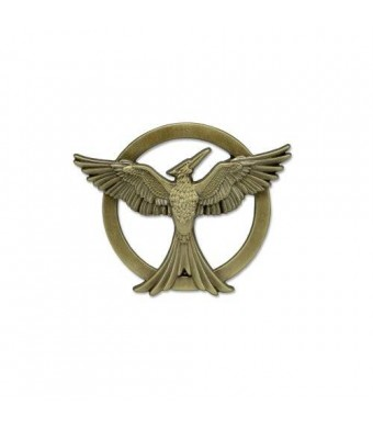 "NECA Hunger Games Mockingjay Movie Part 1 - Pin Replica Pin ""Mockingjay"""