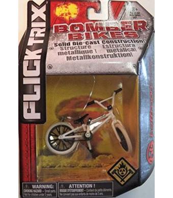 Spin Master Flick Trix Die-cast Bomber Bikes - Hoffman Bikes (White, Black)