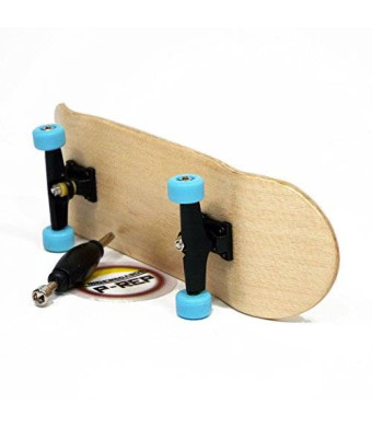 Peoples Republic Maple Complete Wooden Fingerboard with Basic Bearing Wheels - Starter Edition