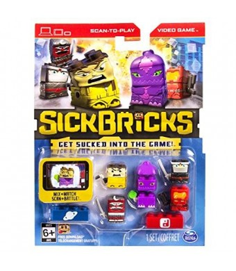 Sick Bricks - Sick Team - 5 Character Pack - Ninja vs Space