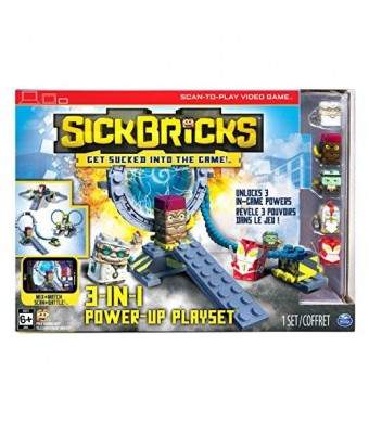 Sick Bricks, 3 - in - 1 Power Up Playset