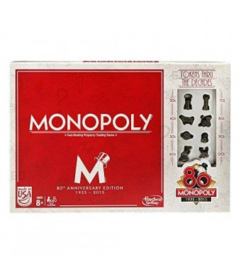 Hasbro Monopoly Game (80th Anniversary)