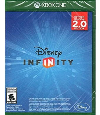 Disney Interactive Studios Disney Infinity 2.0 Marvel Super Heroes Xbox One Replacement Game Only - No Base or Figures Included