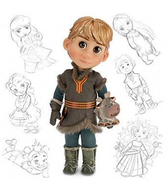 Disney Animators' Collection Frozen Kristoff Doll with Sven 16""