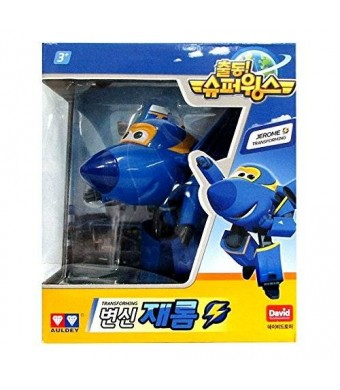 Jerome - Auldey Super Wings Transforming planes series animation Ship from Korea
