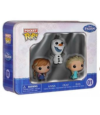 Funko Frozen Pocket Pop! Mini Vinyl Figure Tin (3-Pack)