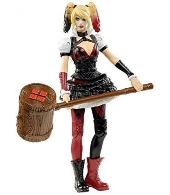 "Mattel DC Comics Multiverse 4"" Arkham Knight Harley Quinn Action Figure"