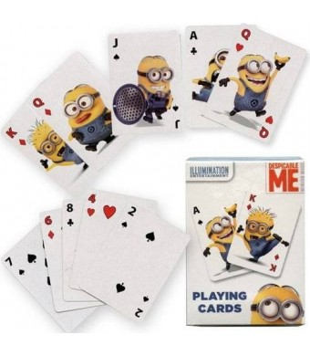 Buengna 1 X Despicable Me Minions Jumbo Playing Cards
