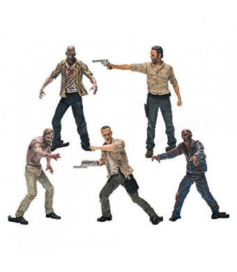 McFarlane Toys Building Sets- The Walking Dead TV Figure Pack 1