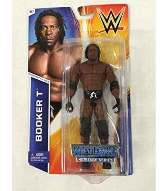 Mattel WWE Figure Heritage Series -Superstar #23 Booker T Figure