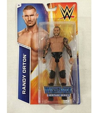 Mattel WWE Figure Heritage Series -Superstar #24 Randy Orton Figure