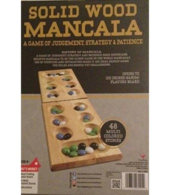 Gift Item Solid Wood Mancala