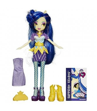 My Little Pony Equestria Girls Rainbow Rocks Sapphire Shores Doll with Fashions