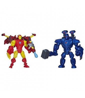 Marvel Super Hero Mashers Iron Man vs. Iron Monger Mash Pack