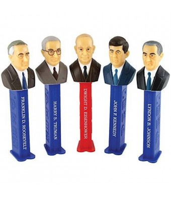 Presidents of the United States PEZ Candy Dispensers: Volume 7 - 1933-1969