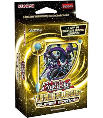 Yugioh New Challengers SE Special Super Edition TCG Cards Booster Mini-Box - 3 packs + 1 Super Rare Card